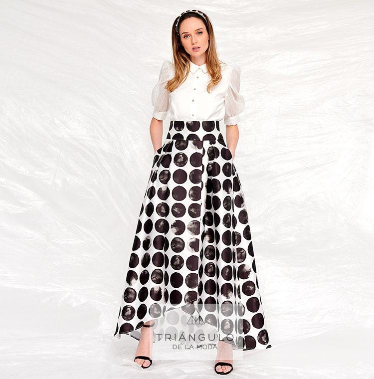 Tienda online del Triangulo de la Moda Falda larga ELSA