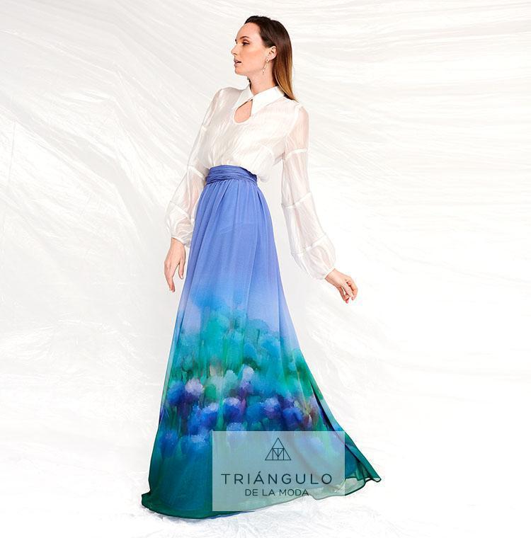 Tienda online del Triangulo de la Moda Falda larga VALIRA