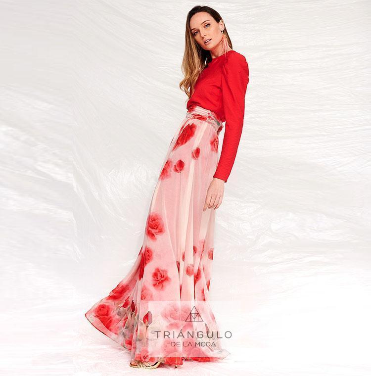 Tienda online del Triangulo de la Moda Falda larga NALA