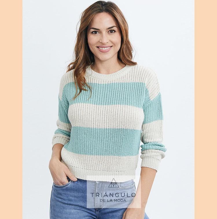 Tienda online del Triangulo de la Moda Jersey RAYAS bicolor