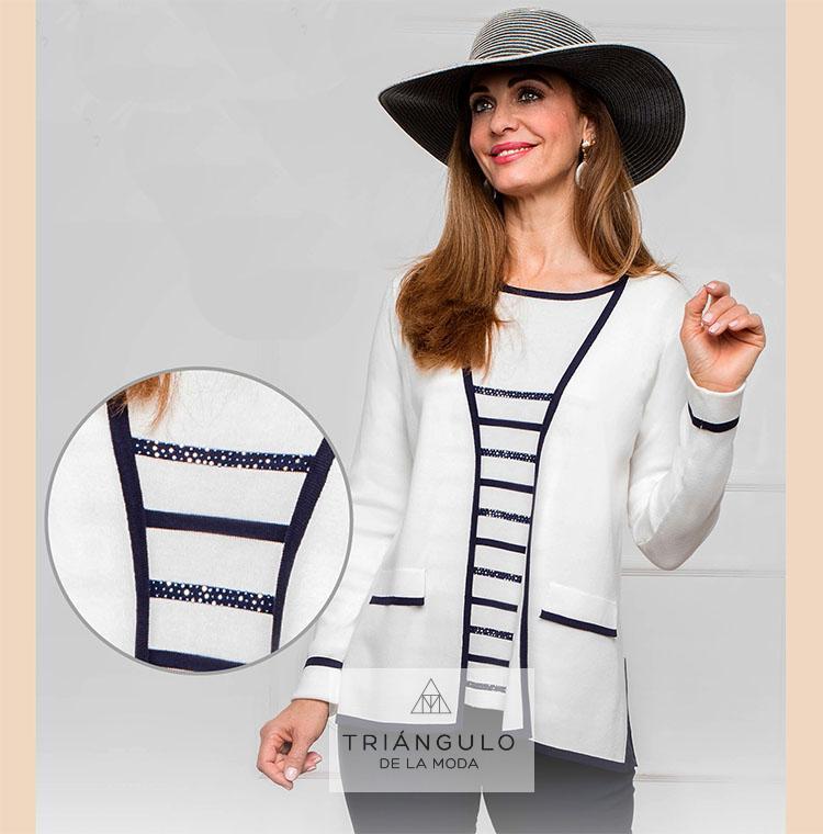 Tienda online del Triangulo de la Moda Falso TWIN-SET Strass