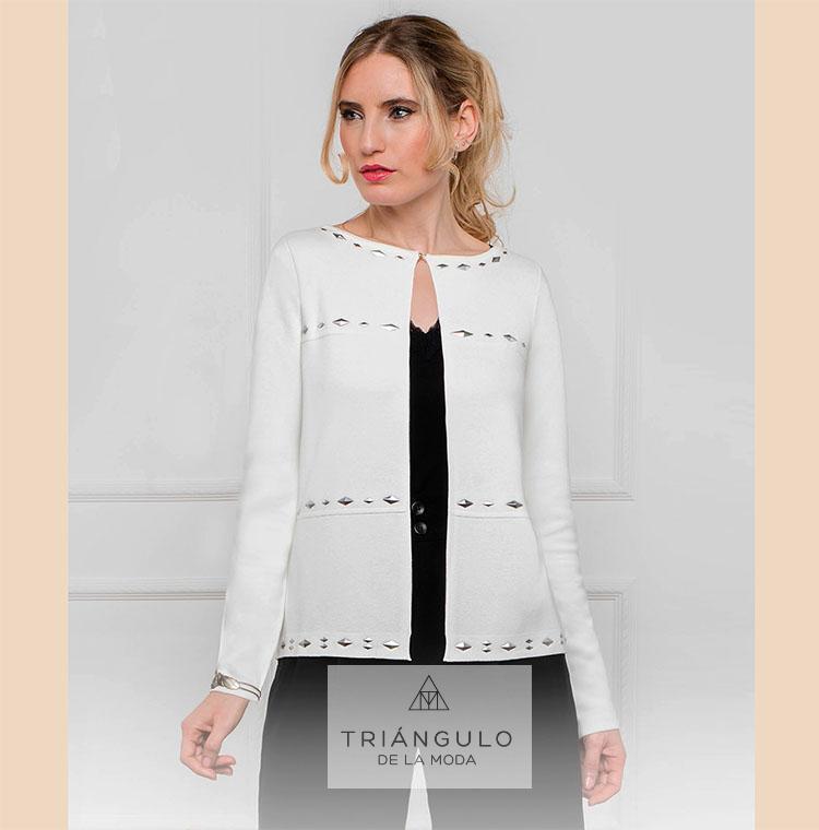 Tienda online del Triangulo de la Moda Chaqueta ADORNOS METAL