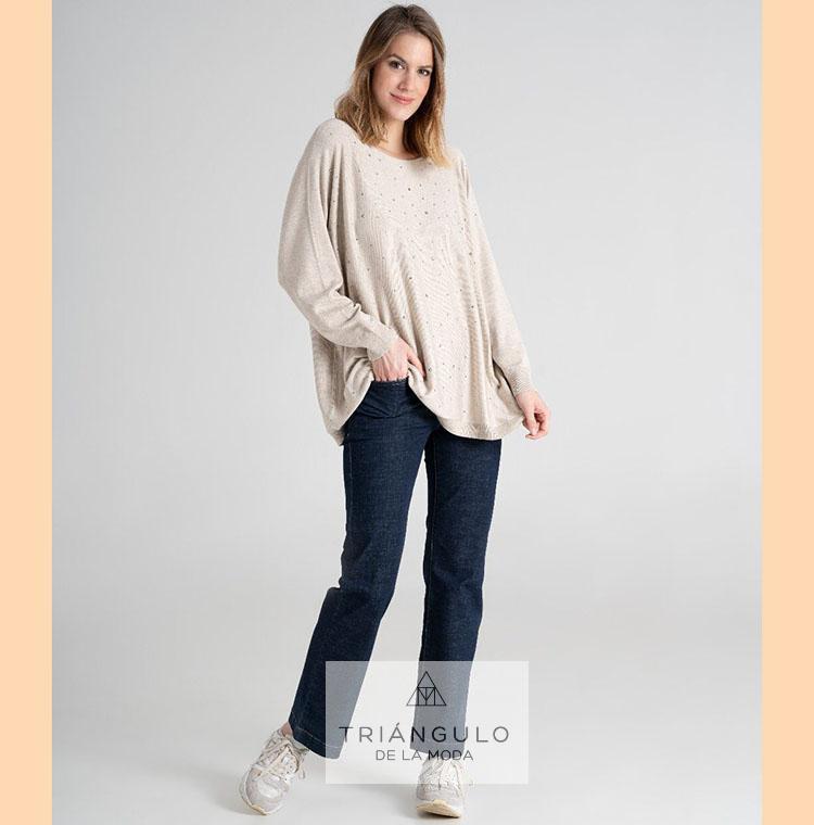 Tienda online del Triangulo de la Moda Pantalón RECTO vaquero YOULINE