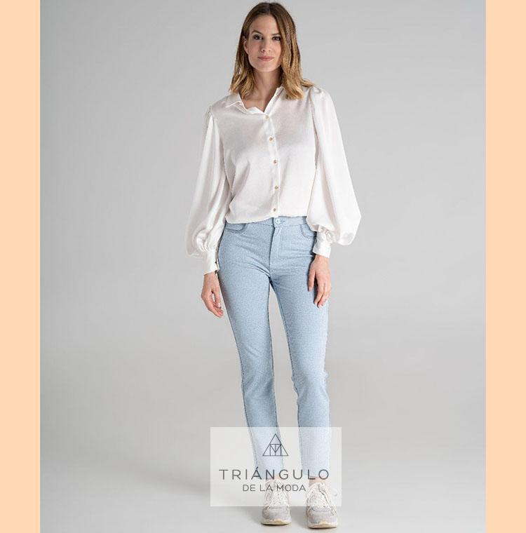 Tienda online del Triangulo de la Moda Pantalón PATA GALLO YOULINE
