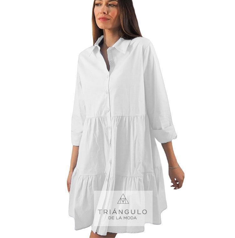 Tienda online del Triangulo de la Moda Vestido COTTON camisero