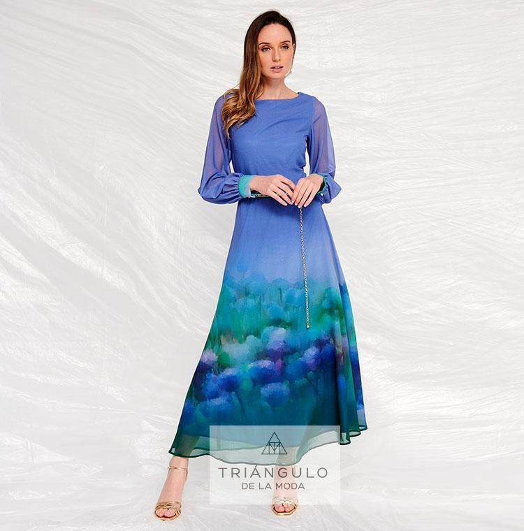 Tienda online del Triangulo de la Moda Vestido largo VALIRA