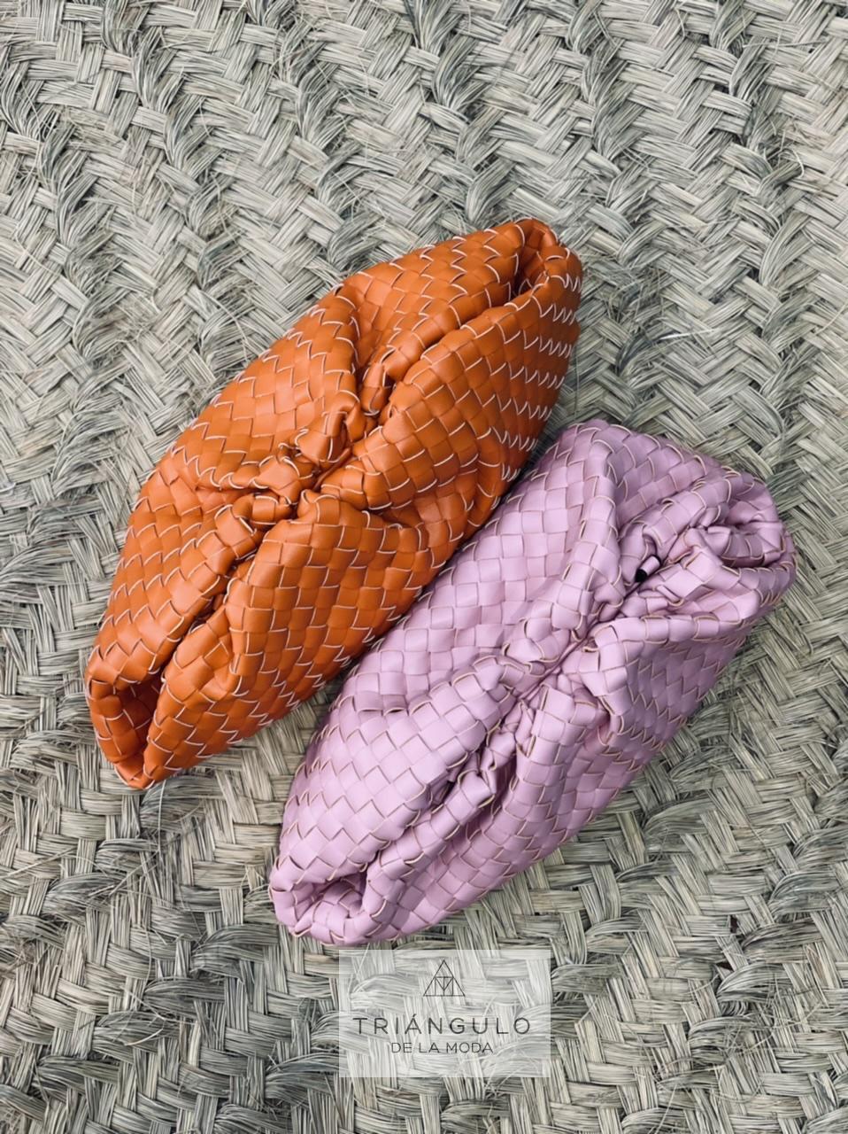 Tienda online del Triangulo de la Moda Cartera trenzada