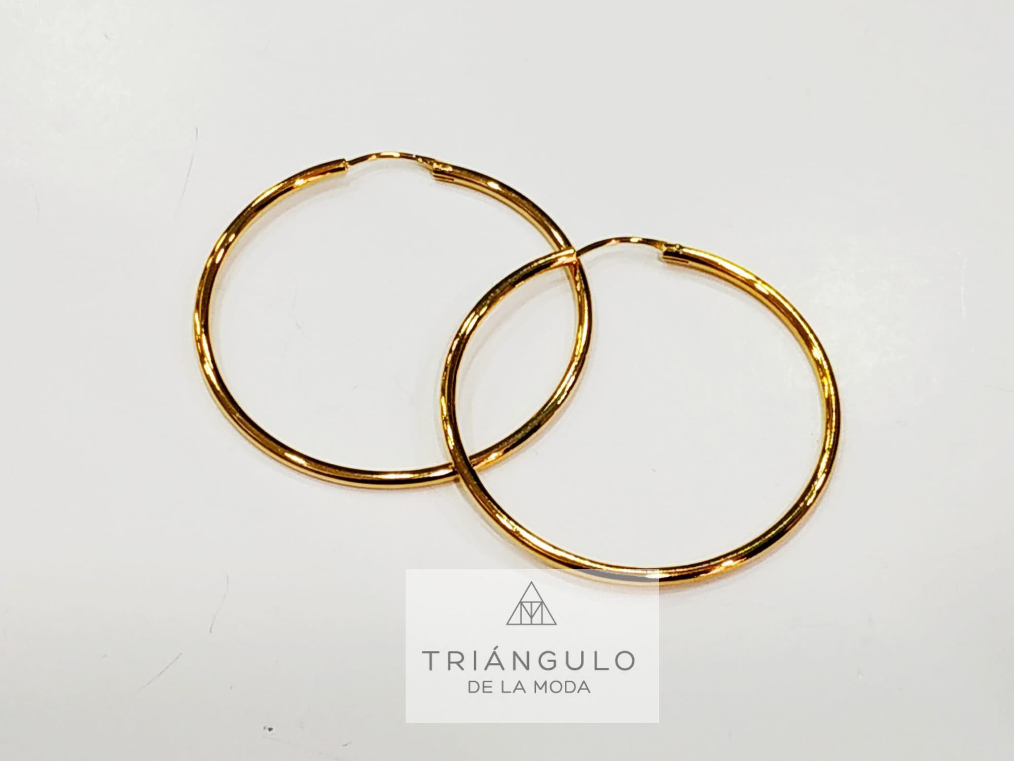 Tienda online del Triangulo de la Moda Pendientes Aro