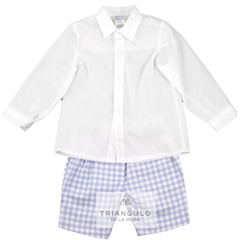 Tienda online del Triangulo de la Moda Conjunto niño cuadros