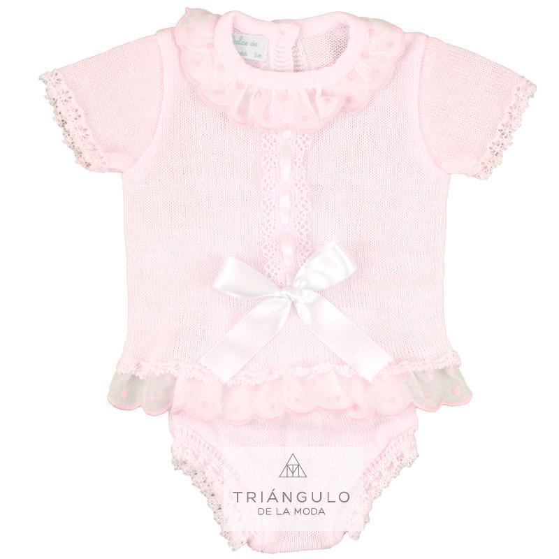 Tienda online del Triangulo de la Moda Traje punto bebe
