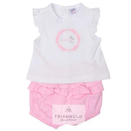 Tienda online del Triangulo de la Moda conjunto niña 2 piezas
