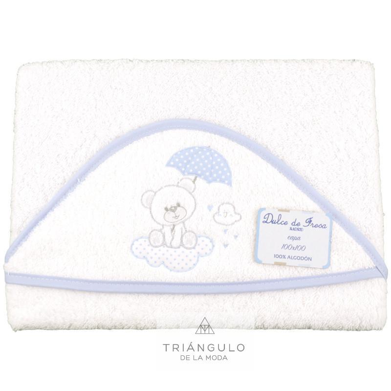 Tienda online del Triangulo de la Moda Capa de baño osito paraguas