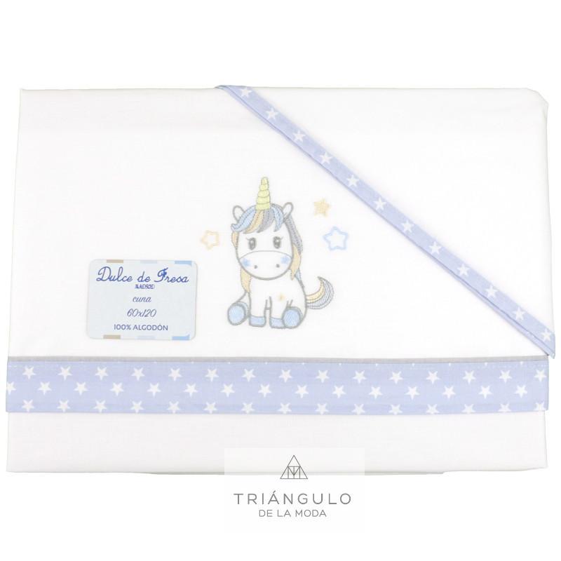 Tienda online del Triangulo de la Moda Sabana de minicuna unicornio