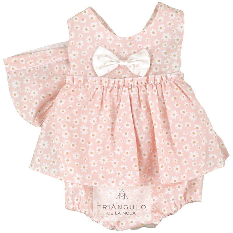 Tienda online del Triangulo de la Moda Pelele niña flor