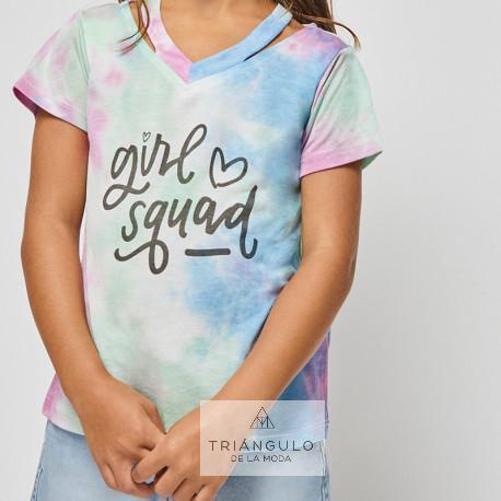 Tienda online del Triangulo de la Moda Conjunto manga corta girl squad