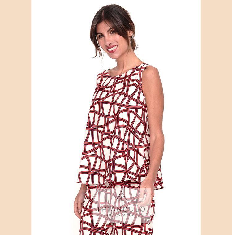 Tienda online del Triangulo de la Moda Blusa PAULETTE