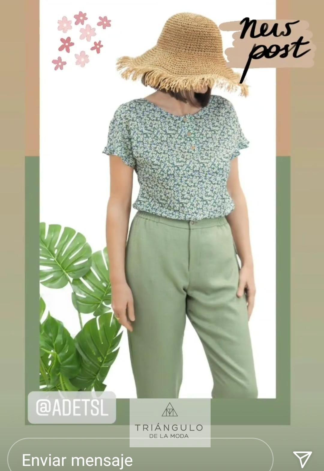 Tienda online del Triangulo de la Moda camiseta florecitas
