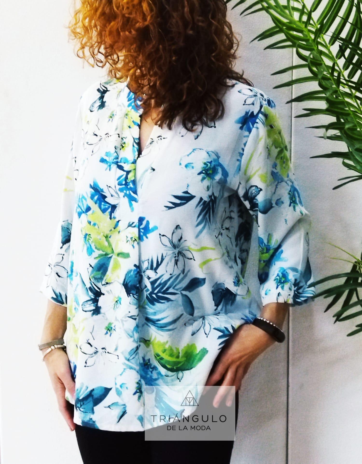 Tienda online del Triangulo de la Moda blusa tapeta