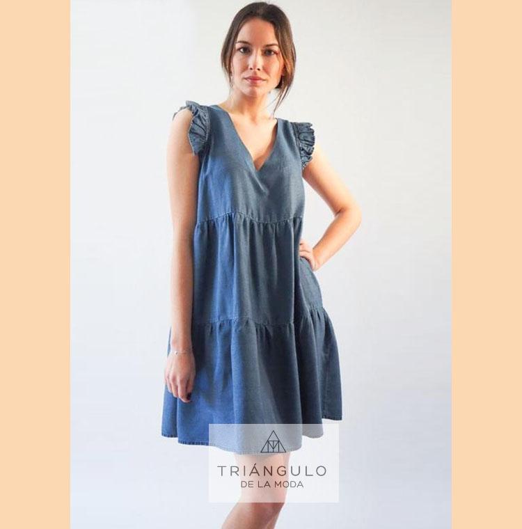 Tienda online del Triangulo de la Moda Vestido TENCEL corto
