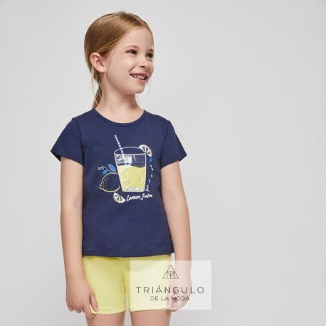 Tienda online del Triangulo de la Moda Conjunto manga corta lemon juice