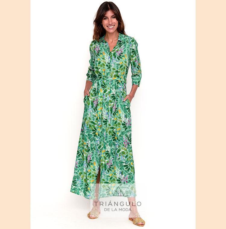 Tienda online del Triangulo de la Moda Vestido largo MARION