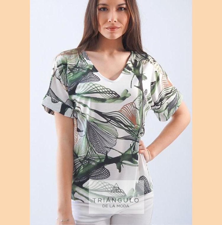Tienda online del Triangulo de la Moda Camiseta ALGAS