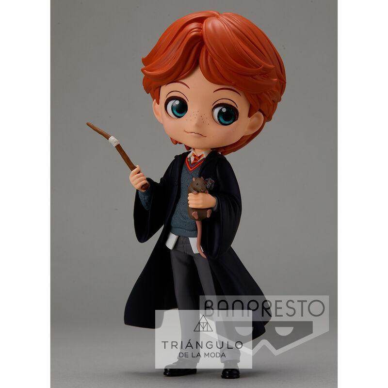 Tienda online del Triangulo de la Moda Figura ron weasley with scabbers harry potter q posket 14cm