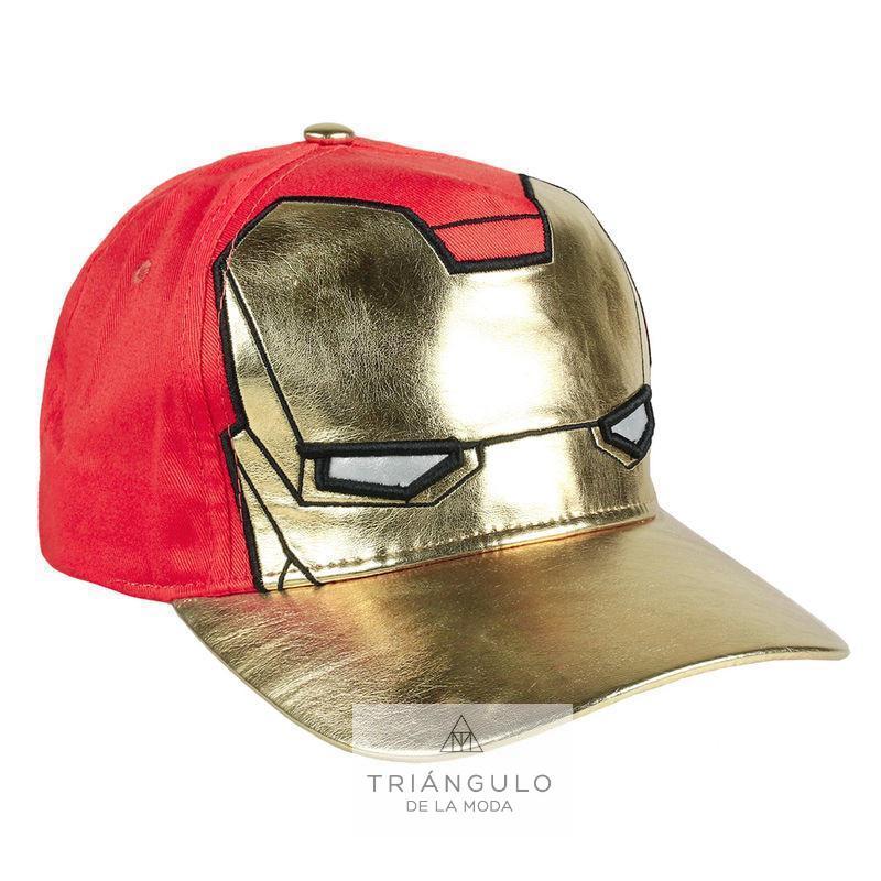 Tienda online del Triangulo de la Moda Gorra iron man avengers marvel premium