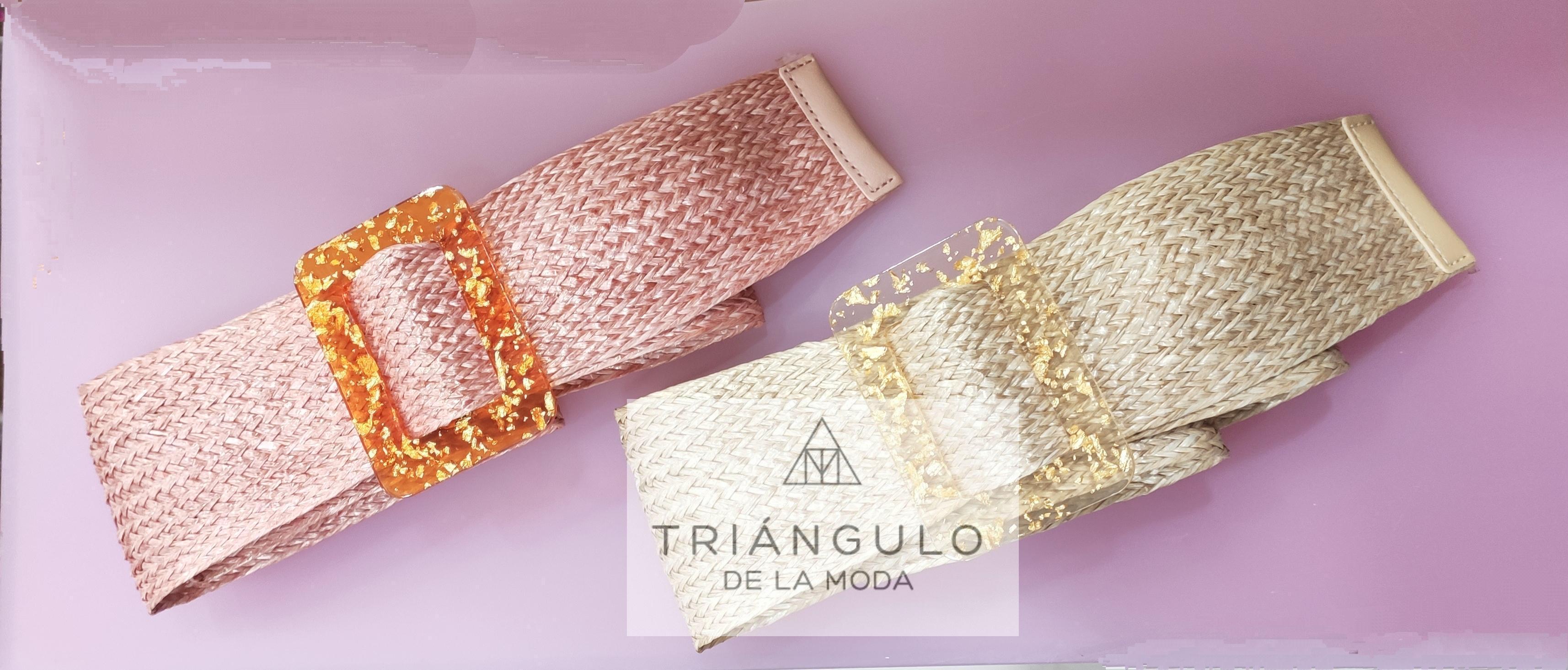 Tienda online del Triangulo de la Moda Cinturones rafia
