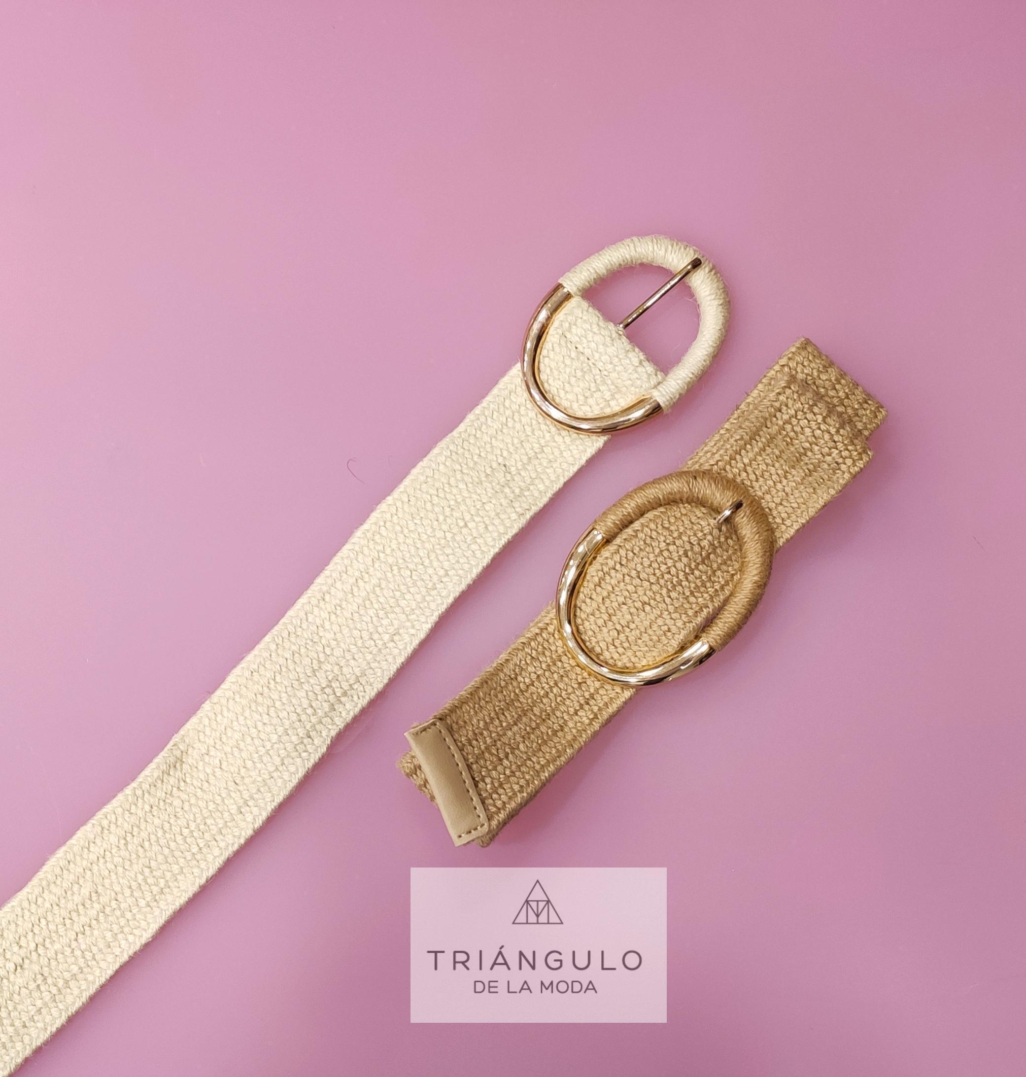 Tienda online del Triangulo de la Moda Cinturón rafia