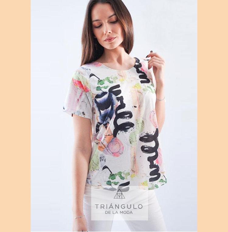 Tienda online del Triangulo de la Moda Camiseta BAS