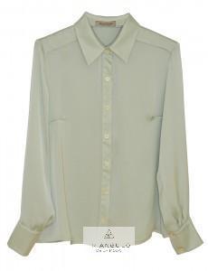 Tienda online del Triangulo de la Moda BLUSA CAMISERA EN SATIN