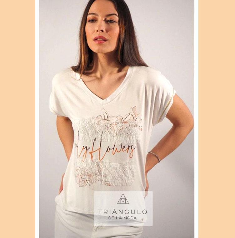 Tienda online del Triangulo de la Moda Camiseta ONLY