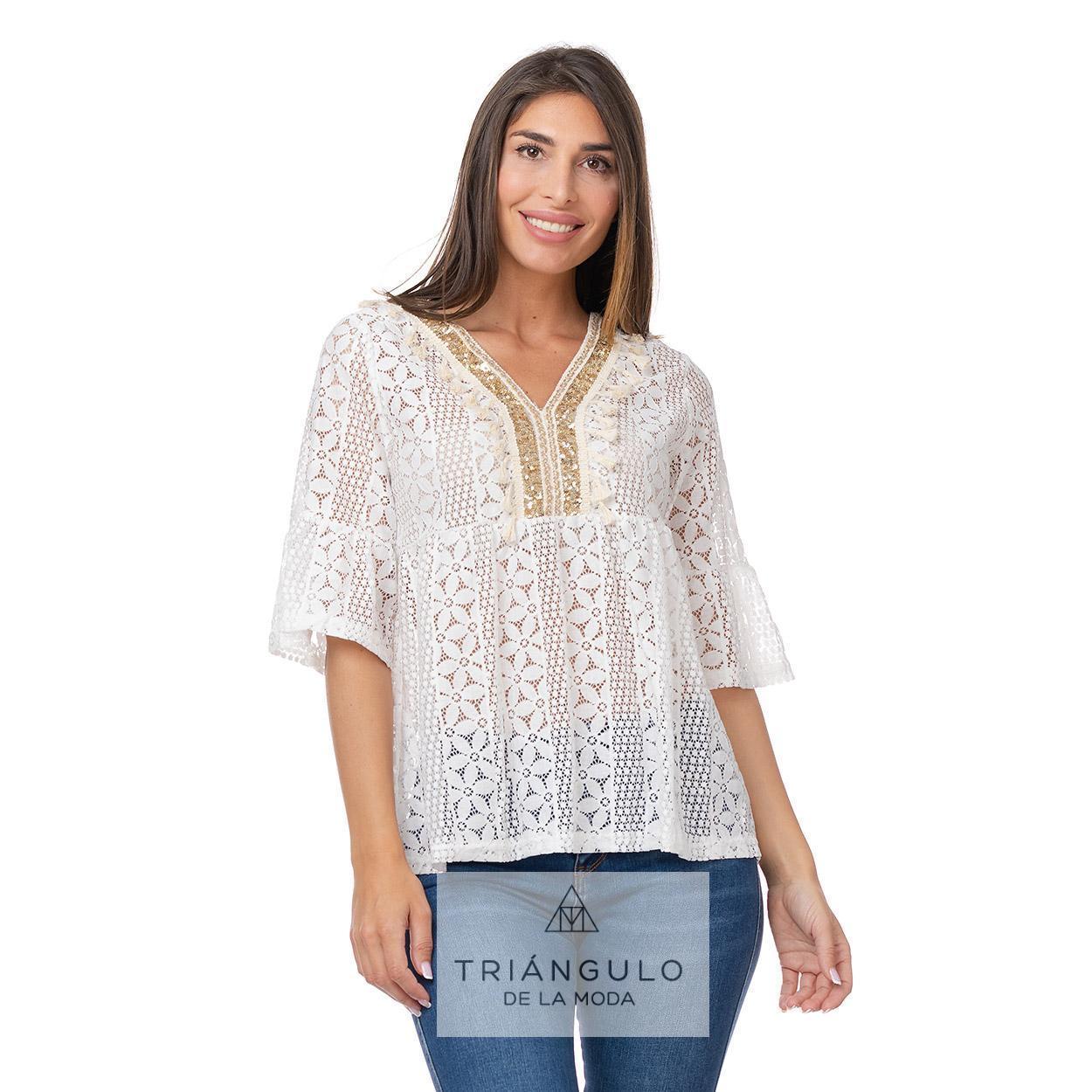 Tienda online del Triangulo de la Moda CASACA BOHO CHIC CON PAILLETTES