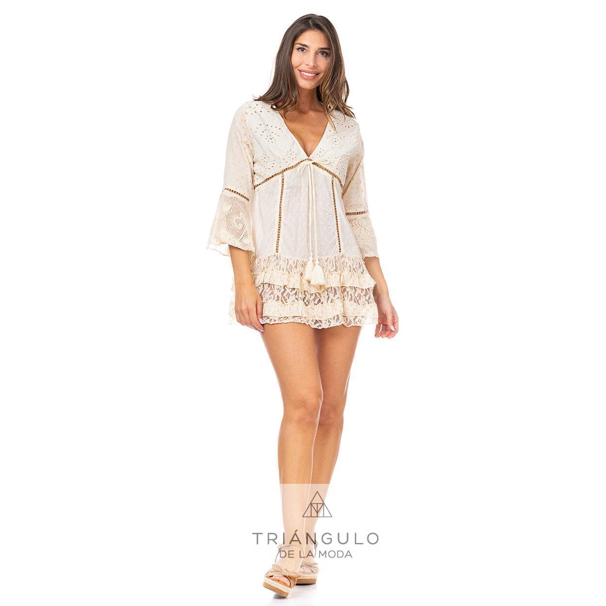 Tienda online del Triangulo de la Moda CASACA BOHO CHIC ENTREDOS RAFIA