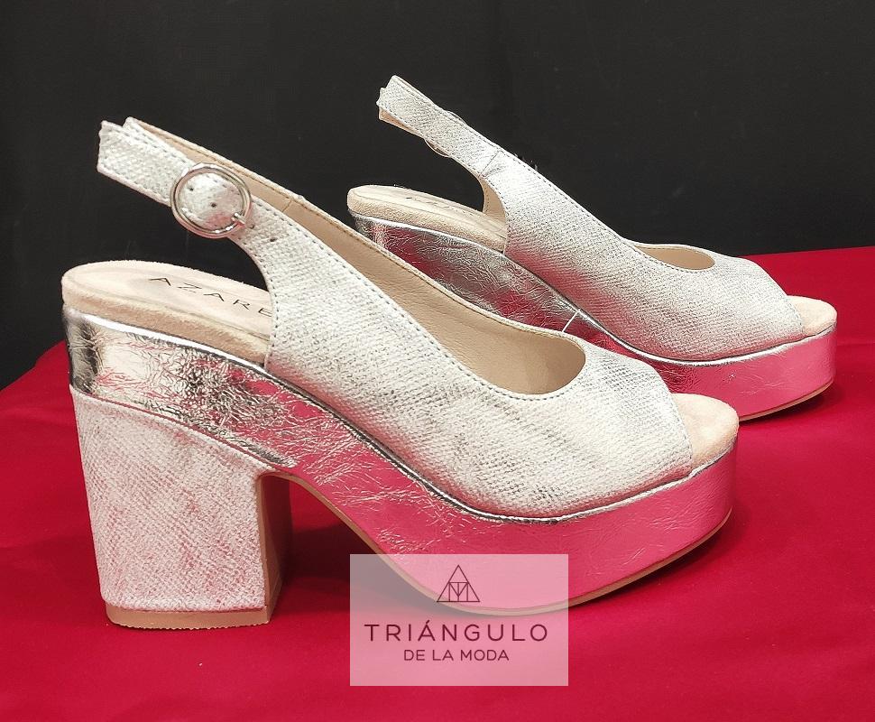 Tienda online del Triangulo de la Moda Sandalias plata