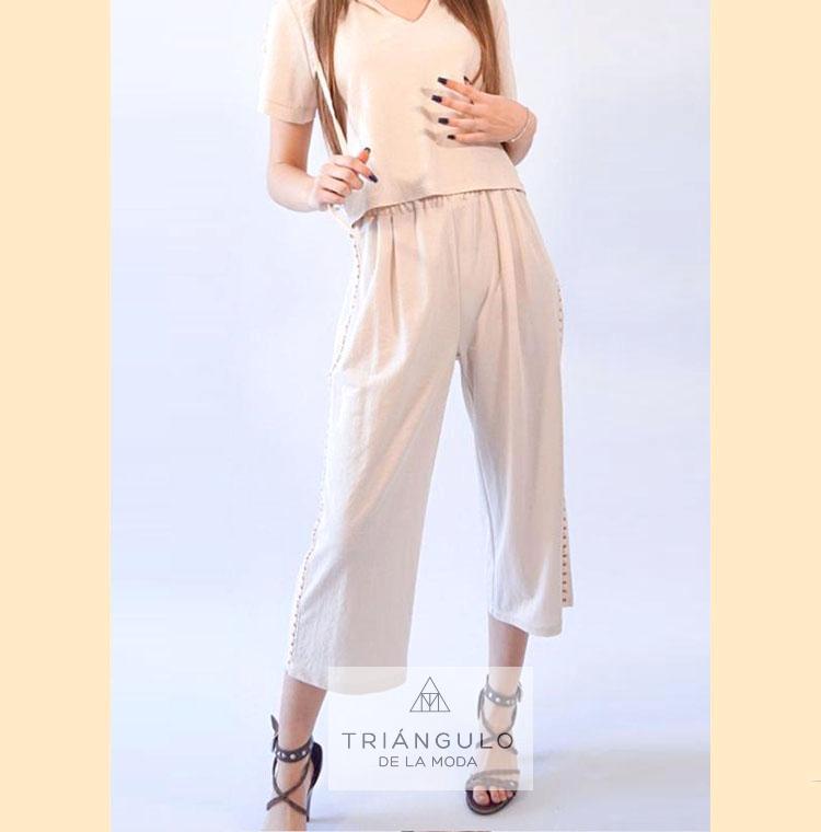 Tienda online del Triangulo de la Moda Pantalón GAUCHO NUDO