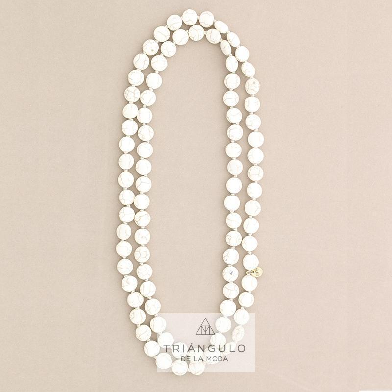 Tienda online del Triangulo de la Moda Collar largo piedras 1.2m