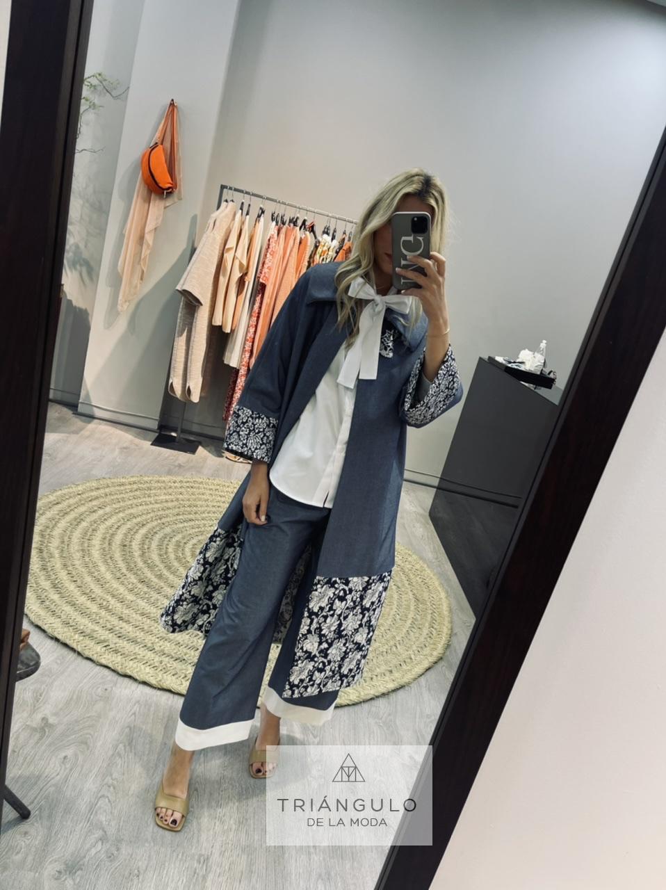 Tienda online del Triangulo de la Moda Abrigo pachwork
