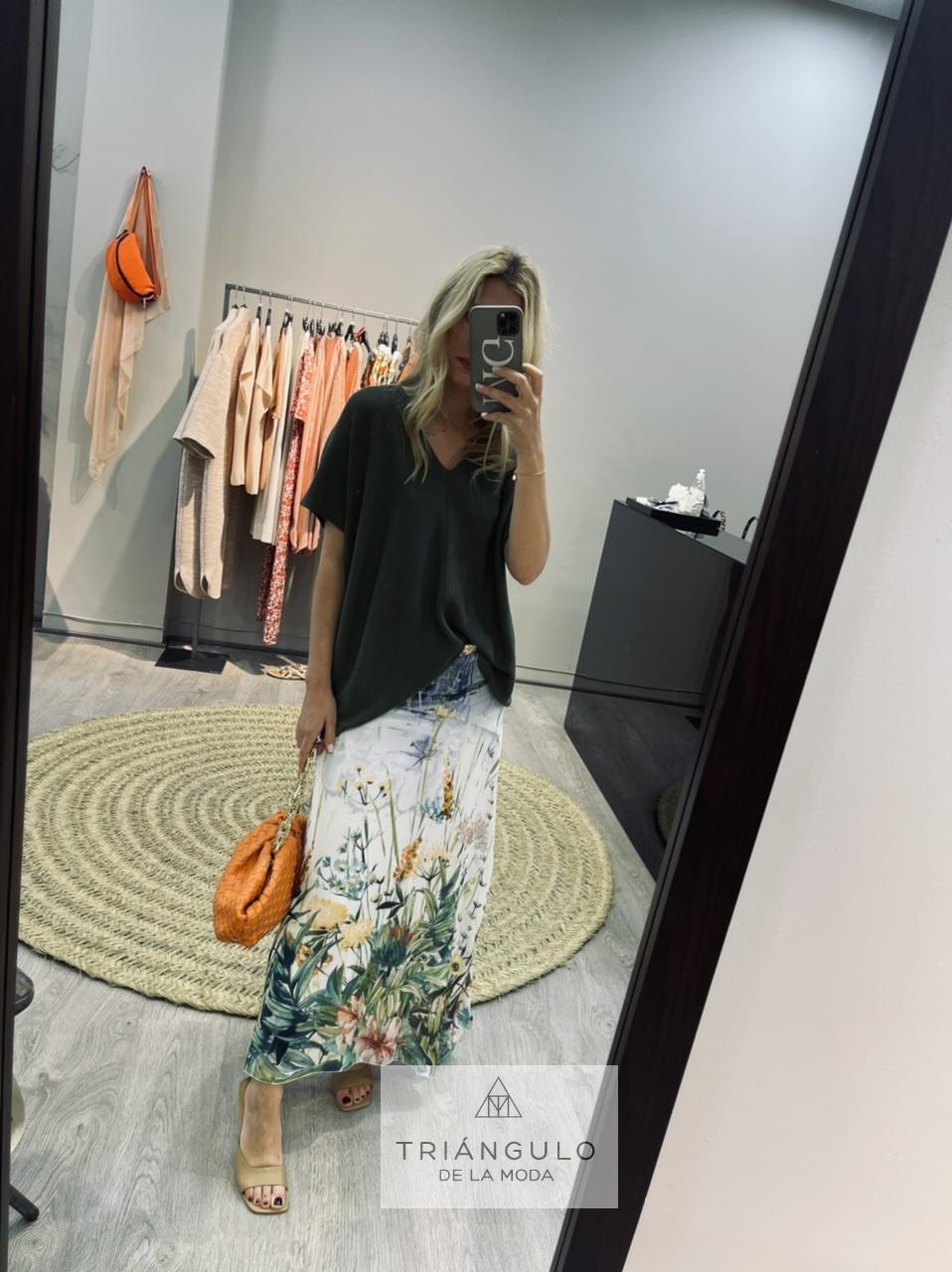 Tienda online del Triangulo de la Moda Falda estampada