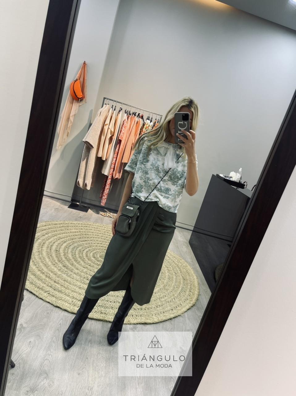 Tienda online del Triangulo de la Moda Camiseta con lazo tull
