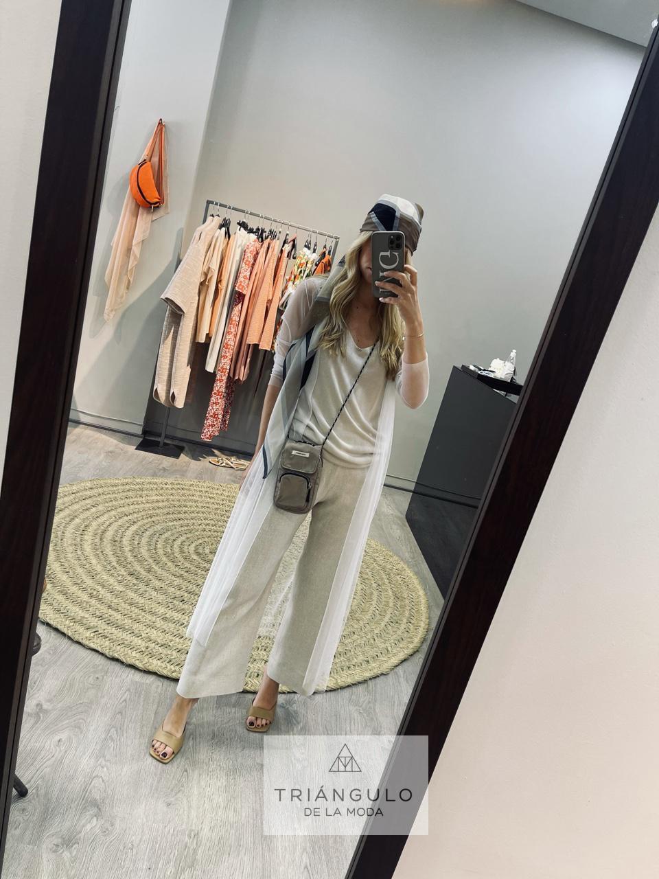 Tienda online del Triangulo de la Moda Abrigo tull
