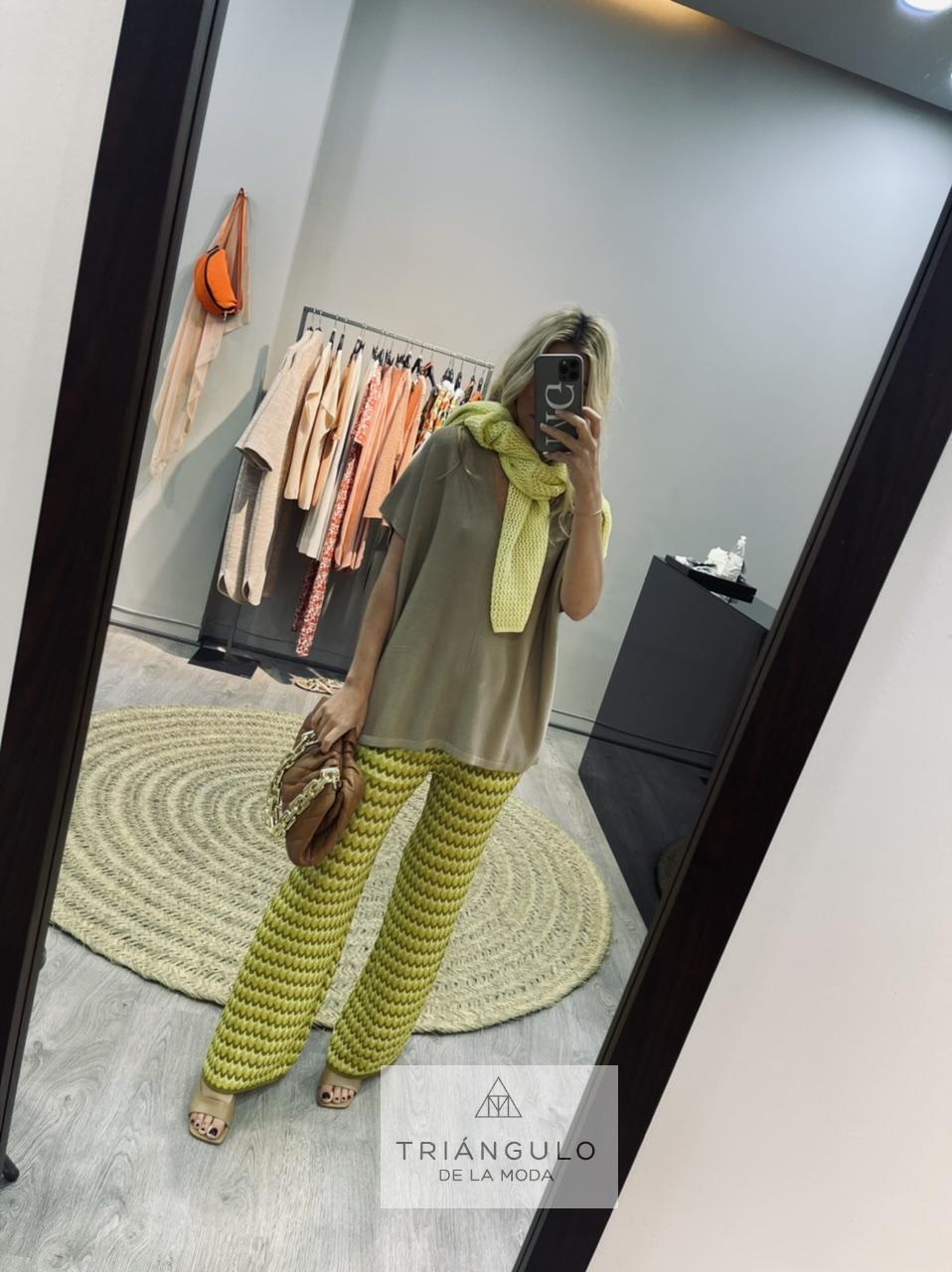 Tienda online del Triangulo de la Moda Pantalon punto misoni