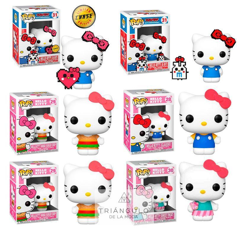 Tienda online del Triangulo de la Moda FIGURA POP HELLO KITTY W/CHASE CAJA SURTIDA 6 UDS