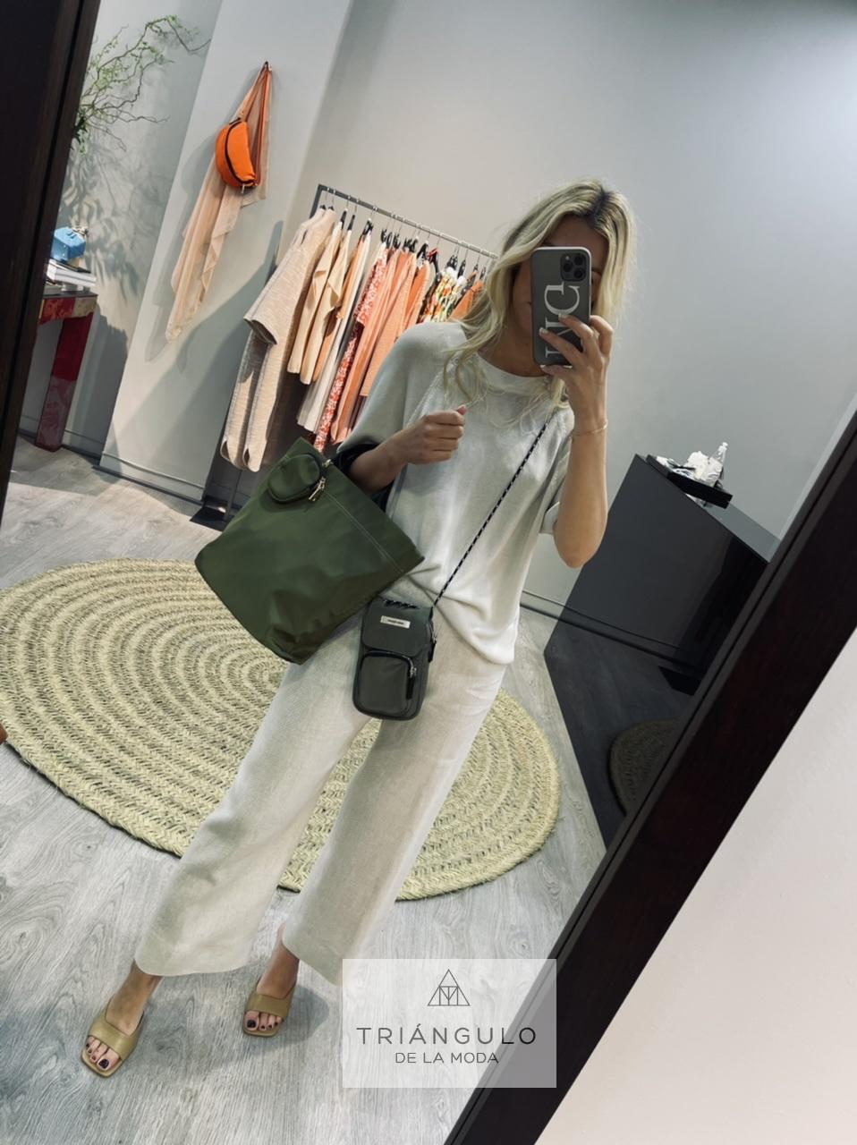 Tienda online del Triangulo de la Moda Bolso nylon
