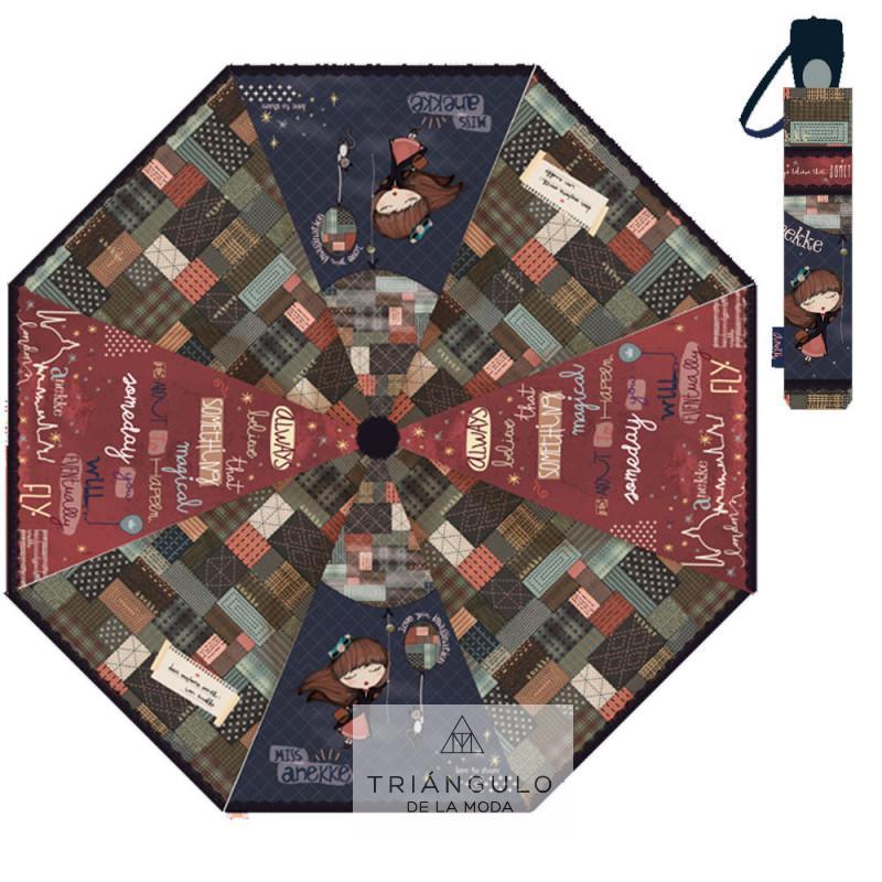 Tienda online del Triangulo de la Moda Paragua plegable automatico anekke missanekke