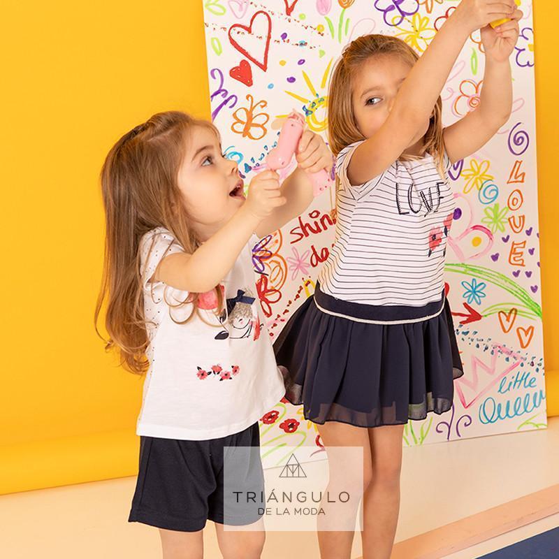 Tienda online del Triangulo de la Moda Conjunto dos Piezas niña