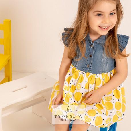 Tienda online del Triangulo de la Moda Vestido limon