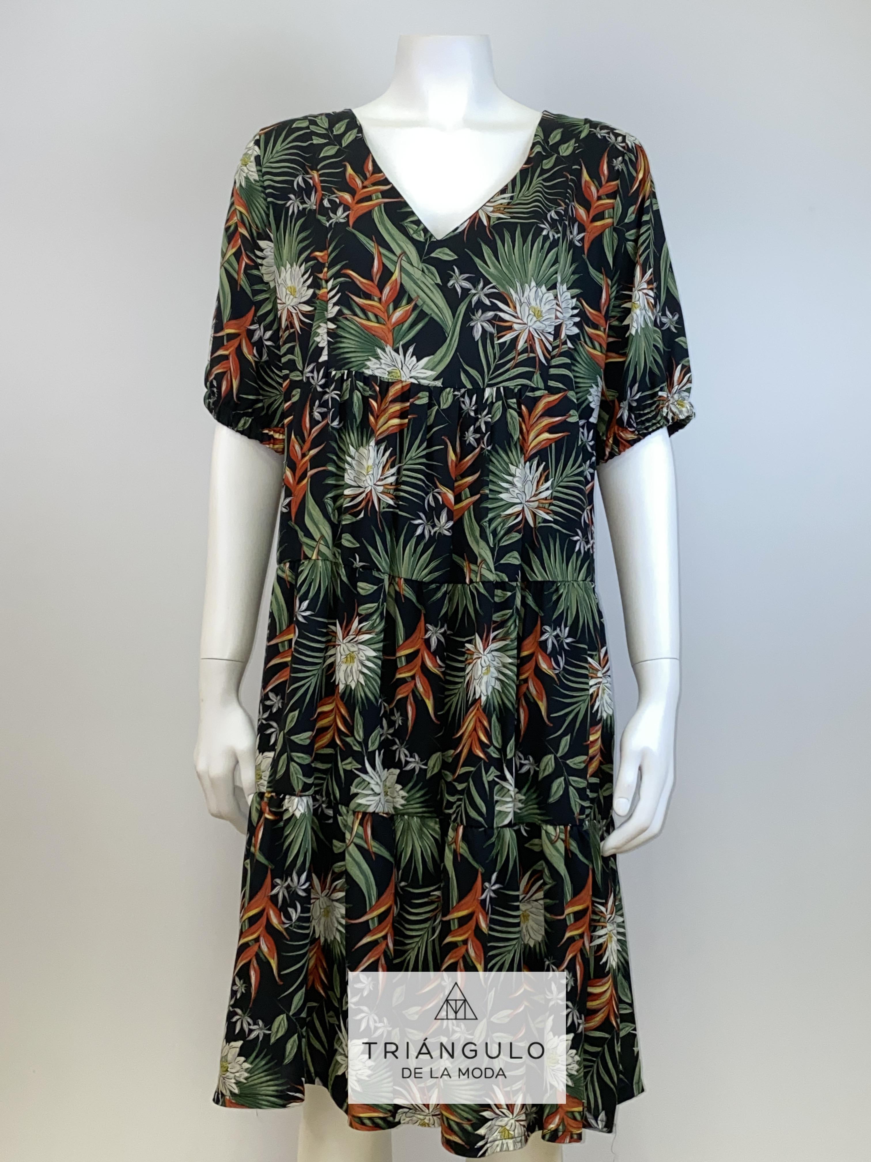 Tienda online del Triangulo de la Moda vestido estampado