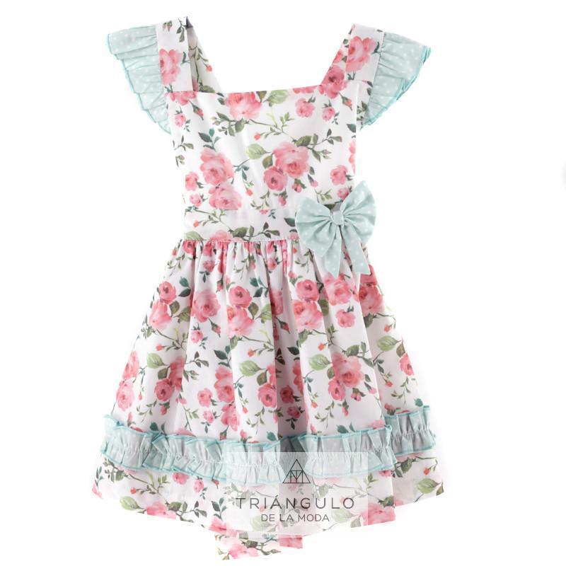 Tienda online del Triangulo de la Moda Vestido infantil floral